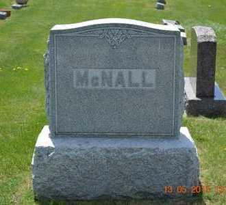 MCNALL, FAMILY MARKER - Branch County, Michigan | FAMILY MARKER MCNALL - Michigan Gravestone Photos