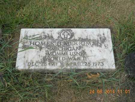 MERRIMAN, HOMER H. - Branch County, Michigan | HOMER H. MERRIMAN - Michigan Gravestone Photos
