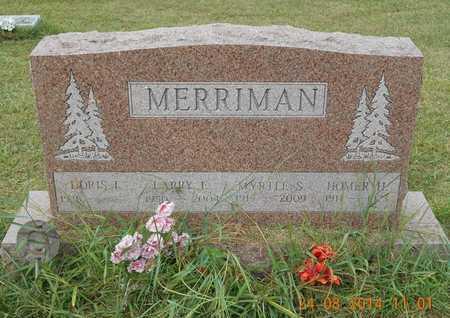 MERRIMAN, LARRY E. - Branch County, Michigan | LARRY E. MERRIMAN - Michigan Gravestone Photos