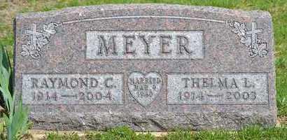 MEYER, THELMA L. - Branch County, Michigan   THELMA L. MEYER - Michigan Gravestone Photos