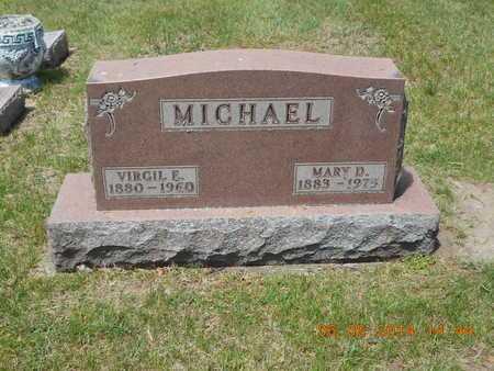 MICHAEL, MARY D. - Branch County, Michigan | MARY D. MICHAEL - Michigan Gravestone Photos