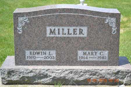MILLER, MARY C. - Branch County, Michigan | MARY C. MILLER - Michigan Gravestone Photos