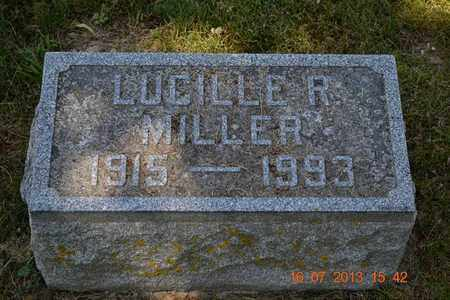 MILLER, LUCILLE R. - Branch County, Michigan | LUCILLE R. MILLER - Michigan Gravestone Photos