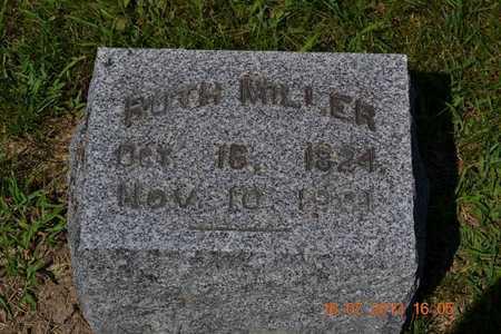 MILLER, RUTH - Branch County, Michigan | RUTH MILLER - Michigan Gravestone Photos