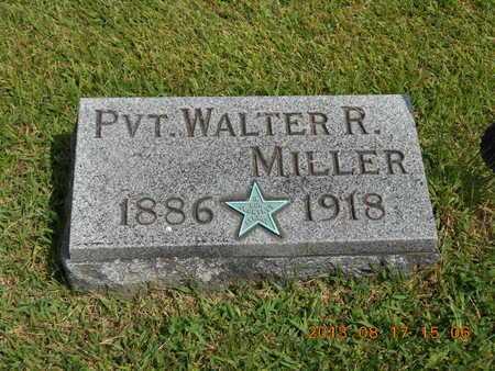 MILLER, WALTER R. - Branch County, Michigan | WALTER R. MILLER - Michigan Gravestone Photos