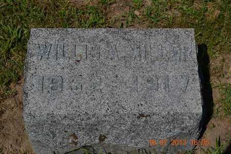 MILLER, WILLIS - Branch County, Michigan   WILLIS MILLER - Michigan Gravestone Photos