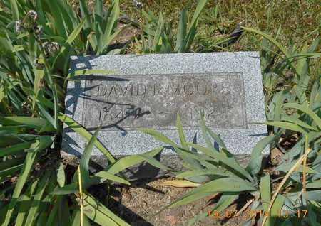 MOORE, DAVID E. - Branch County, Michigan | DAVID E. MOORE - Michigan Gravestone Photos