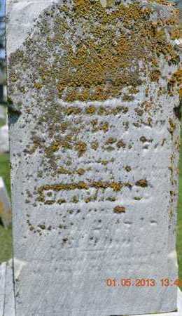 MOREY, MARY E. - Branch County, Michigan | MARY E. MOREY - Michigan Gravestone Photos
