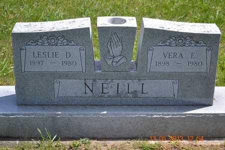NEILL, VERA E. - Branch County, Michigan | VERA E. NEILL - Michigan Gravestone Photos