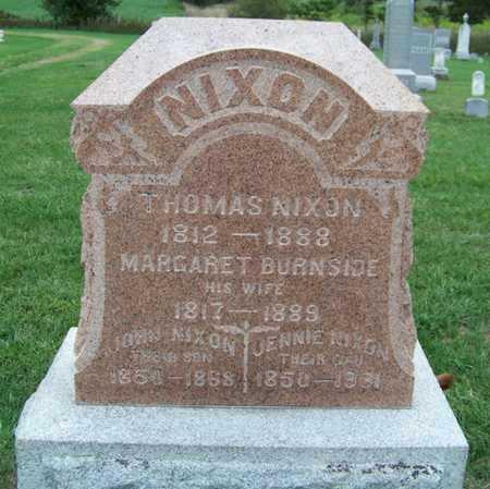 NIXON, MARGARET - Branch County, Michigan | MARGARET NIXON - Michigan Gravestone Photos