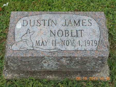 NOBLIT, DUSTIN JAMES - Branch County, Michigan   DUSTIN JAMES NOBLIT - Michigan Gravestone Photos