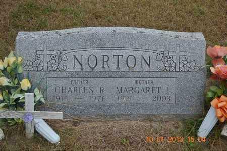 NORTON, MARGARET L. - Branch County, Michigan   MARGARET L. NORTON - Michigan Gravestone Photos