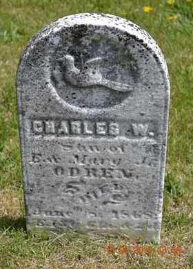 ODREN, CHARLES W. - Branch County, Michigan   CHARLES W. ODREN - Michigan Gravestone Photos