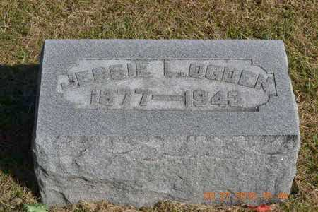 OGDEN, JESSIE L. - Branch County, Michigan   JESSIE L. OGDEN - Michigan Gravestone Photos