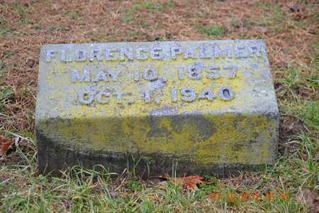 PALMER, FLORENCE - Branch County, Michigan   FLORENCE PALMER - Michigan Gravestone Photos