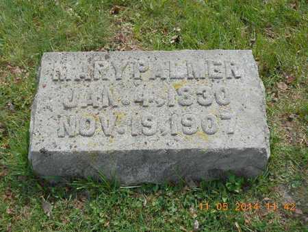 PALMER, MARY - Branch County, Michigan | MARY PALMER - Michigan Gravestone Photos