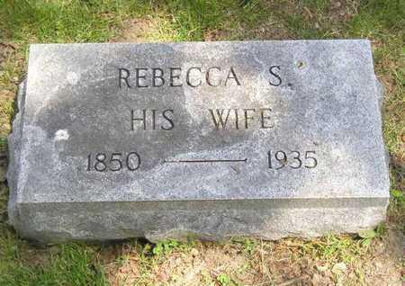 PARHAM, REBECCA S. - Branch County, Michigan | REBECCA S. PARHAM - Michigan Gravestone Photos