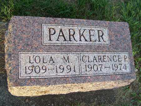 PARKER, CLARENCE - Branch County, Michigan | CLARENCE PARKER - Michigan Gravestone Photos