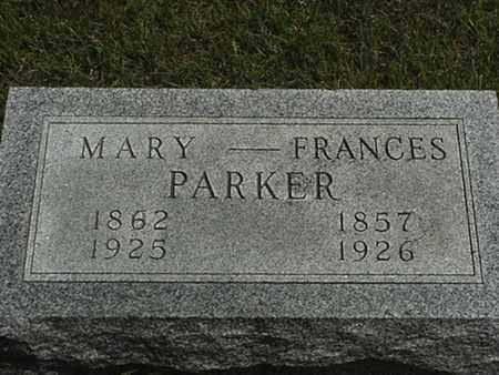 PARKER, MARY - Branch County, Michigan | MARY PARKER - Michigan Gravestone Photos