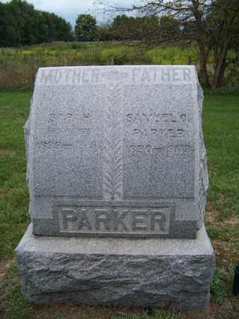 PARKER, SAMUEL - Branch County, Michigan | SAMUEL PARKER - Michigan Gravestone Photos