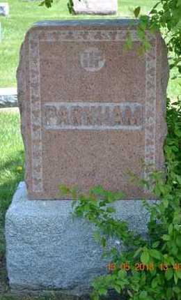PARNHAM, FAMILY - Branch County, Michigan | FAMILY PARNHAM - Michigan Gravestone Photos