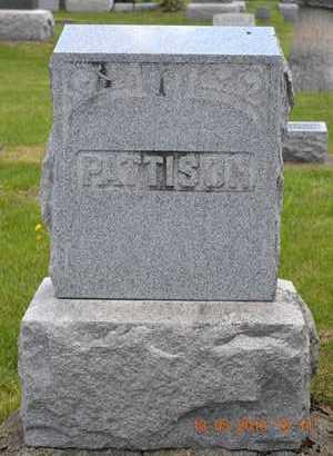 PATTISON, FAMILY MARKER - Branch County, Michigan | FAMILY MARKER PATTISON - Michigan Gravestone Photos