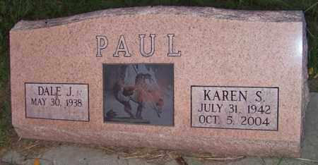 PAUL, DALE - Branch County, Michigan   DALE PAUL - Michigan Gravestone Photos