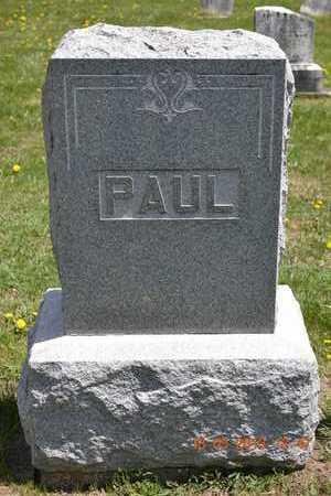 PAUL, FAMILY MARKER - Branch County, Michigan | FAMILY MARKER PAUL - Michigan Gravestone Photos