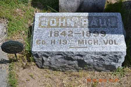 PAUL, JOHN(#1) - Branch County, Michigan | JOHN(#1) PAUL - Michigan Gravestone Photos