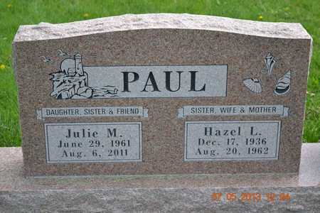PAUL, HAZEL L. - Branch County, Michigan | HAZEL L. PAUL - Michigan Gravestone Photos
