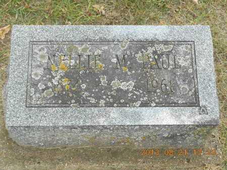 PAUL, NELLIE M. - Branch County, Michigan | NELLIE M. PAUL - Michigan Gravestone Photos