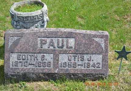 PAUL, EDITH B. - Branch County, Michigan | EDITH B. PAUL - Michigan Gravestone Photos