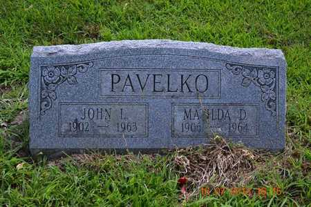 PAVELKO, MATILDA - Branch County, Michigan | MATILDA PAVELKO - Michigan Gravestone Photos
