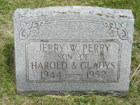 PERRY, JERRY W. - Branch County, Michigan   JERRY W. PERRY - Michigan Gravestone Photos