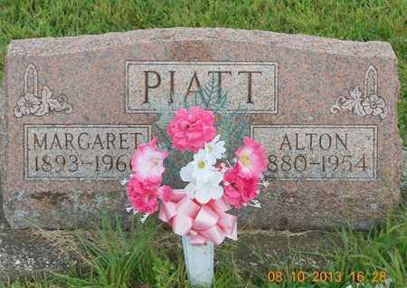 PIATT, MARGARET - Branch County, Michigan | MARGARET PIATT - Michigan Gravestone Photos