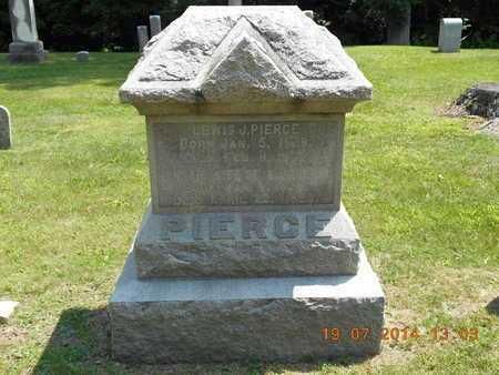 PIERCE, HANNAH - Branch County, Michigan | HANNAH PIERCE - Michigan Gravestone Photos