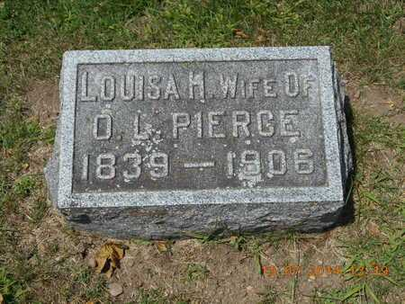 PIERCE, LOUISA H. - Branch County, Michigan | LOUISA H. PIERCE - Michigan Gravestone Photos