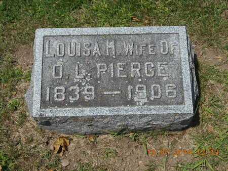 PIERCE, LOUISA H. - Branch County, Michigan | LOUISA H. PIERCE - Michigan Gravestone Photos
