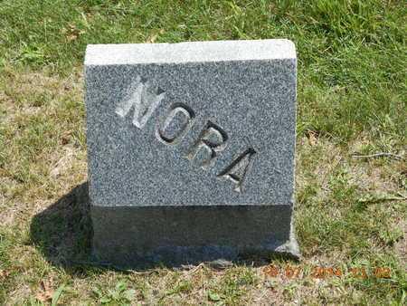 PIERCE, NORA E. - Branch County, Michigan | NORA E. PIERCE - Michigan Gravestone Photos