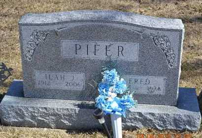 PIFER, ILAH J. - Branch County, Michigan | ILAH J. PIFER - Michigan Gravestone Photos