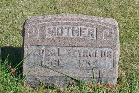 REYNOLDS, FLORA L. - Branch County, Michigan   FLORA L. REYNOLDS - Michigan Gravestone Photos
