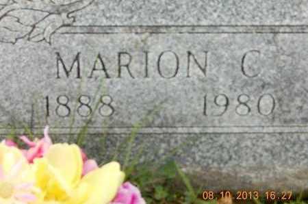 RICE, MARION C. - Branch County, Michigan   MARION C. RICE - Michigan Gravestone Photos