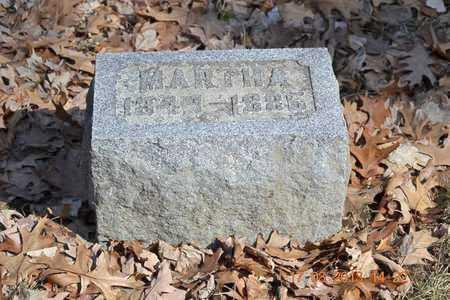 RICE, MARTHA - Branch County, Michigan   MARTHA RICE - Michigan Gravestone Photos