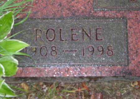 RICE, ROLENE - Branch County, Michigan | ROLENE RICE - Michigan Gravestone Photos