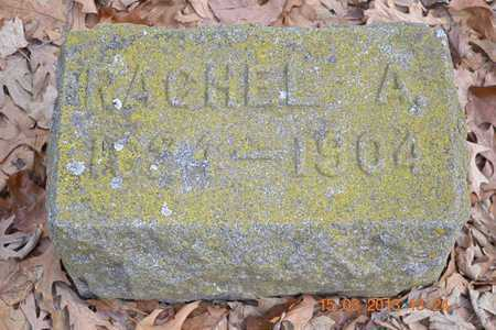 RICE, RACHEL A. - Branch County, Michigan | RACHEL A. RICE - Michigan Gravestone Photos