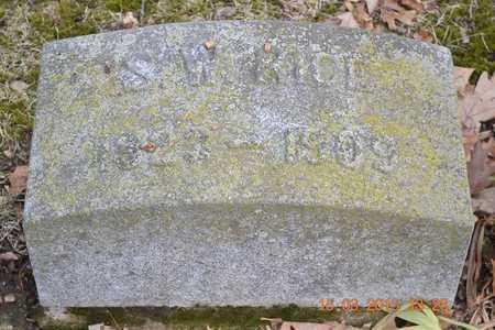 RICE, S.W. - Branch County, Michigan | S.W. RICE - Michigan Gravestone Photos