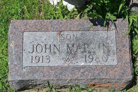RISSMAN, JOHN MARVIN - Branch County, Michigan | JOHN MARVIN RISSMAN - Michigan Gravestone Photos