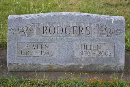 RODGERS, P. VERN - Branch County, Michigan | P. VERN RODGERS - Michigan Gravestone Photos