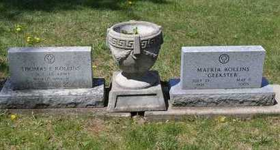 "ROLLINS, MATRIA ""GEEKSTER"" - Branch County, Michigan   MATRIA ""GEEKSTER"" ROLLINS - Michigan Gravestone Photos"