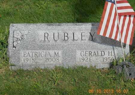 RUBLEY, PATRICIA M. - Branch County, Michigan | PATRICIA M. RUBLEY - Michigan Gravestone Photos